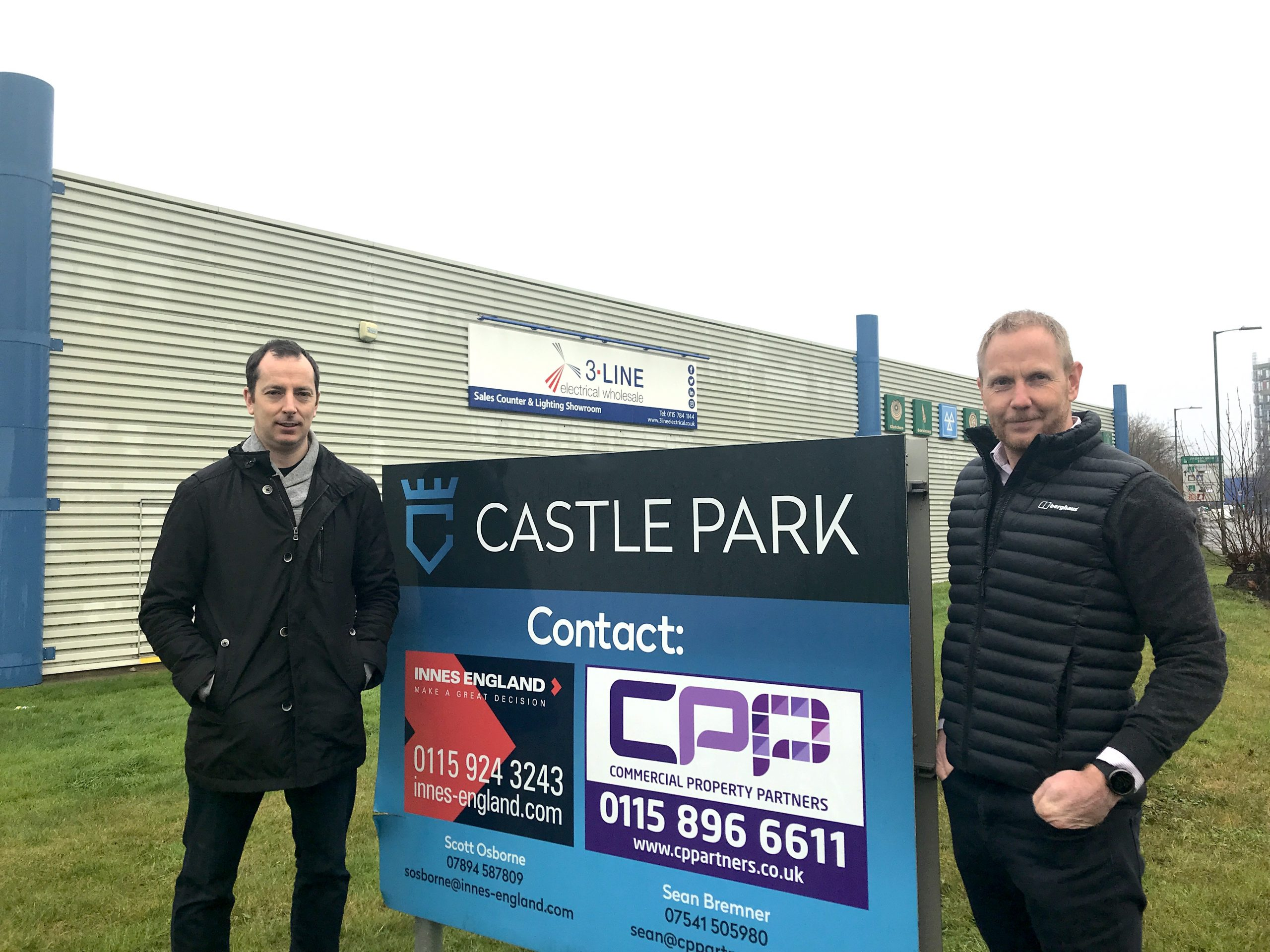 TRIO OF DEALS FOR INNES ENGLAND AT NOTTINGHAM INDUSTRIAL PARK