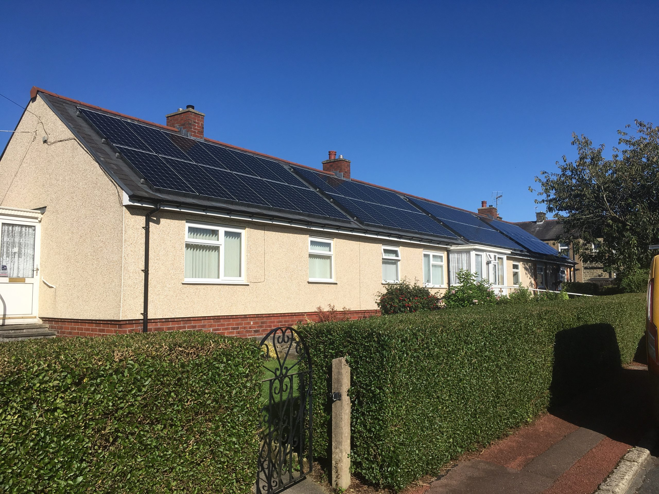 Going green in Lancashire – hundreds of houses installed with solar panels in ground-breaking project
