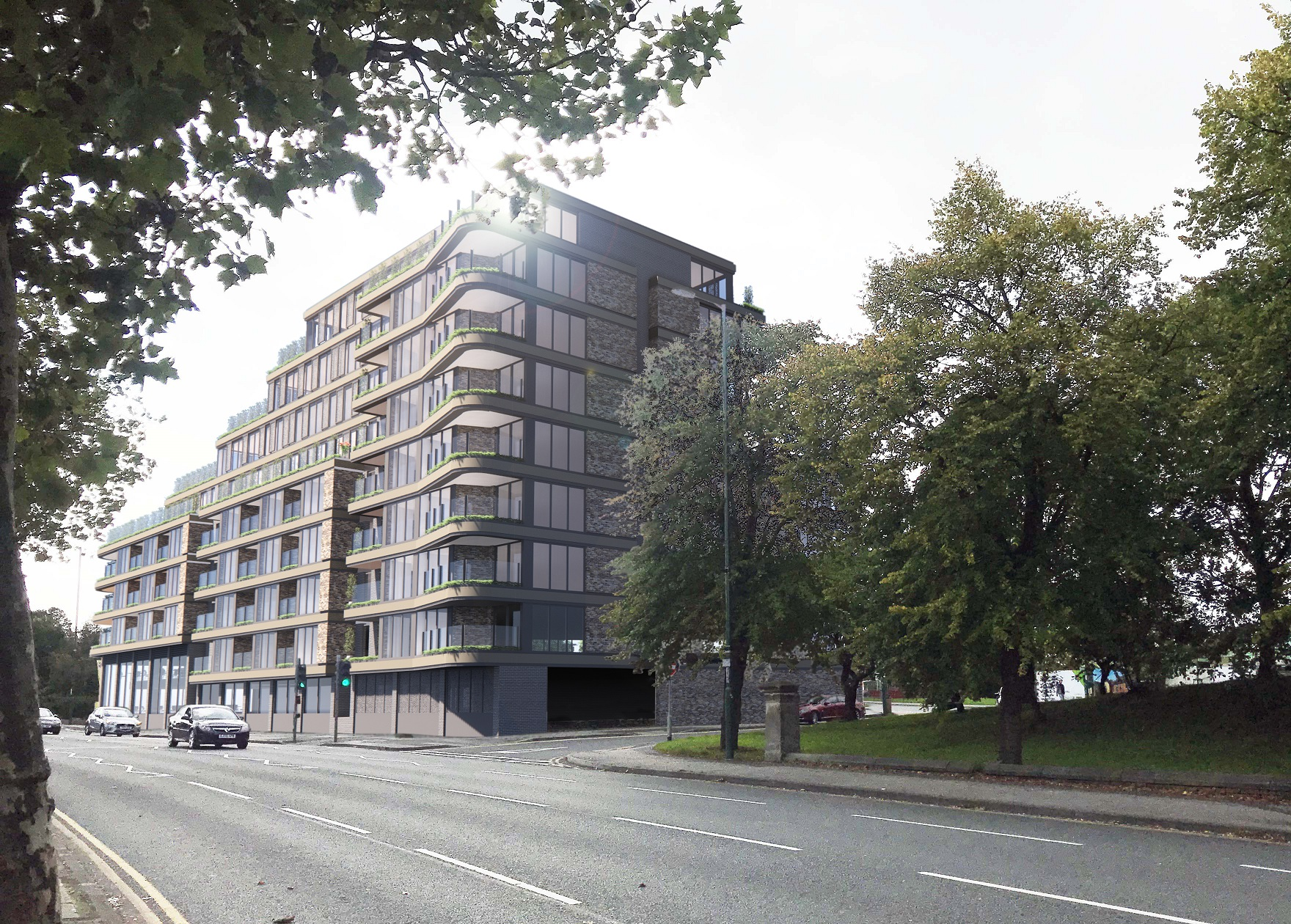 Landmark London Road Scheme Plans Submitted