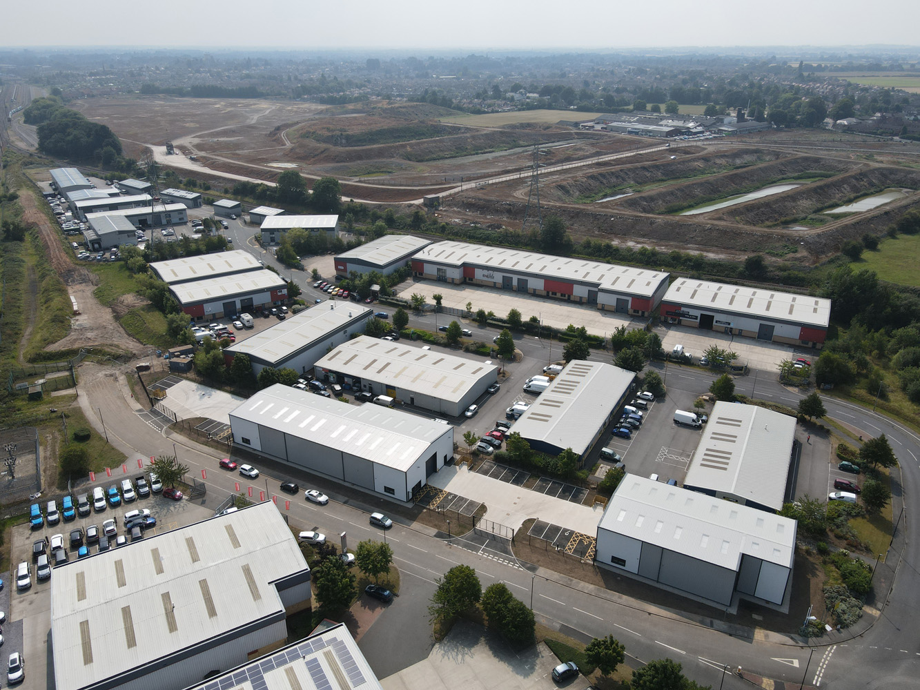 Network Rail And TIER Arrive At York Business Park