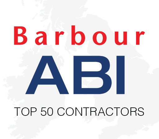 Total value of construction contracts awarded to the top 50 in December was £5.5 billion