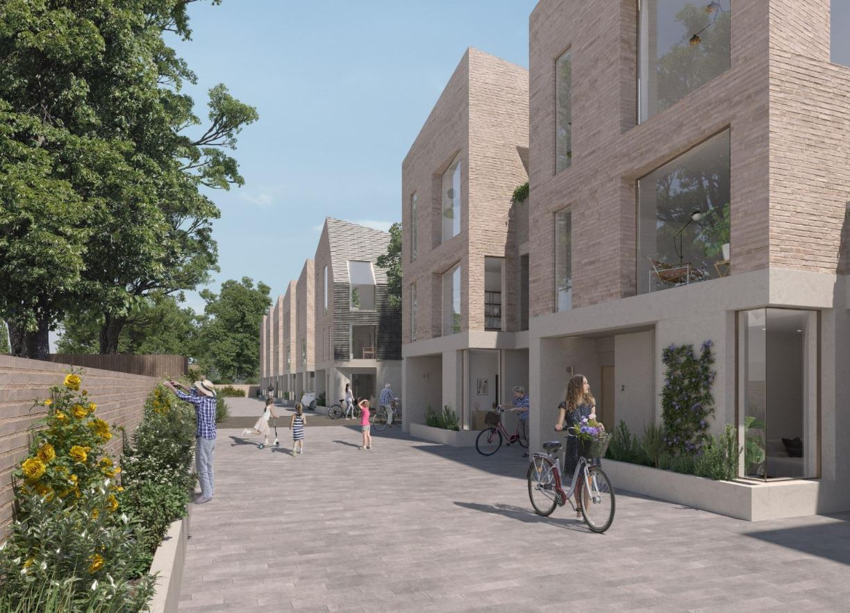 SOUTHERN GROVE UNVEILS £7M DEVELOPMENT OF FAMILY MEWS HOUSES IN LONDON'S ENFIELD