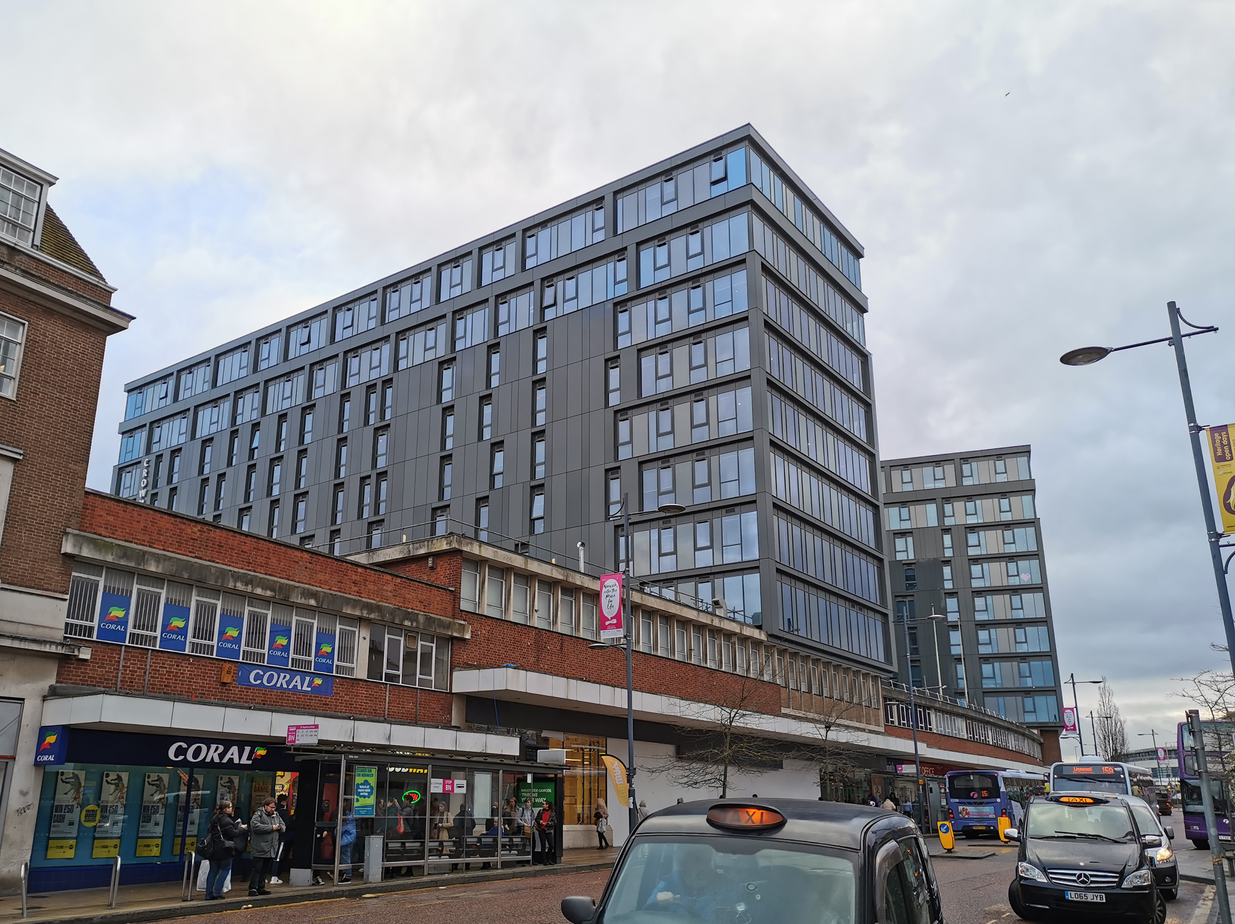 Kawneer products selected for £50 million award-winning Crown Place redevelopment