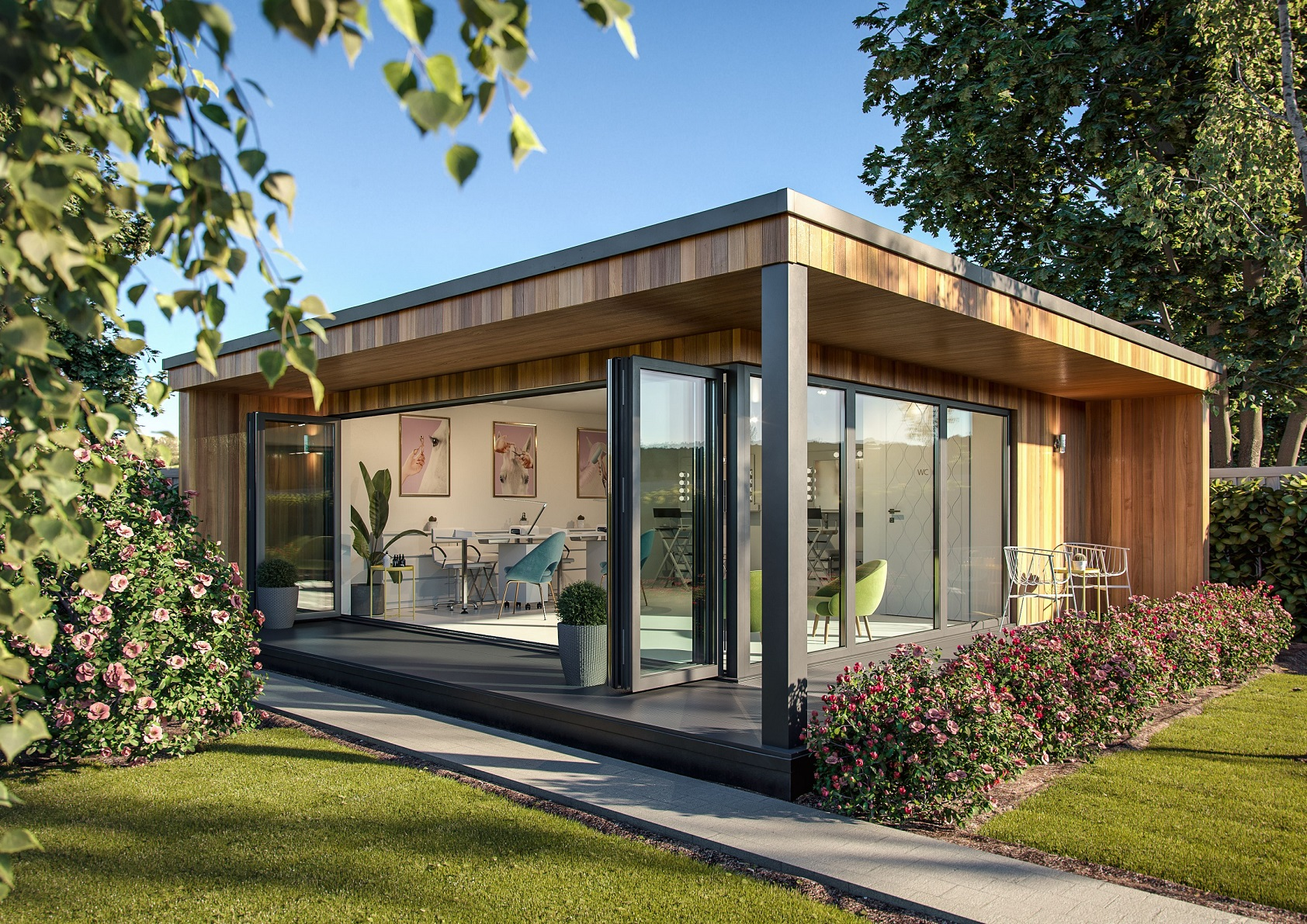 Taggart Homes begins construction on innovative new outdoor multifunctional work pods