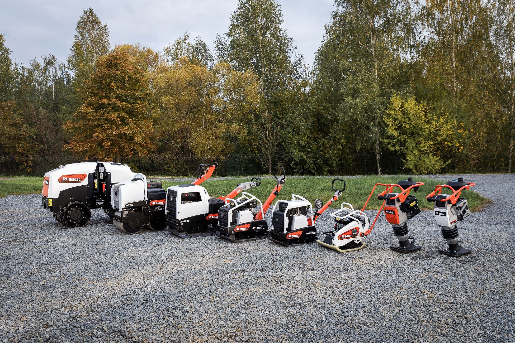 Bobcat Rolls Out New Light Compaction Product Range