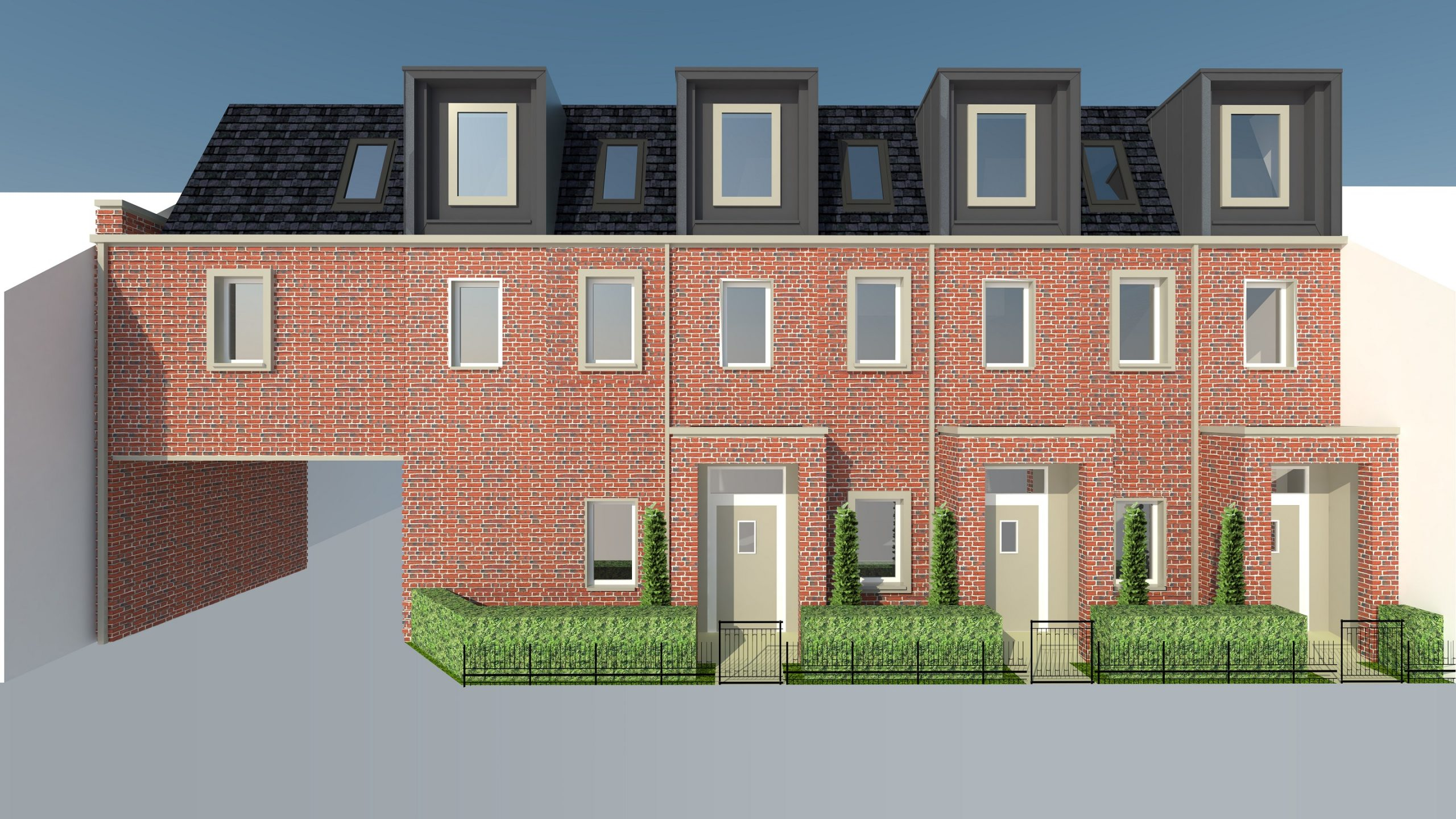 Construction starts on building new council-owned family homes in Military Road, Colchester