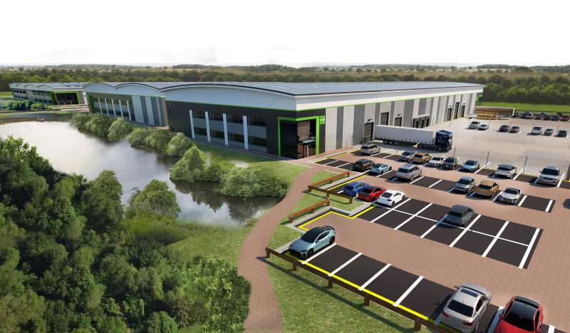 Goodman commences 250,000 sq ft second phase at Bedford Commercial Park+