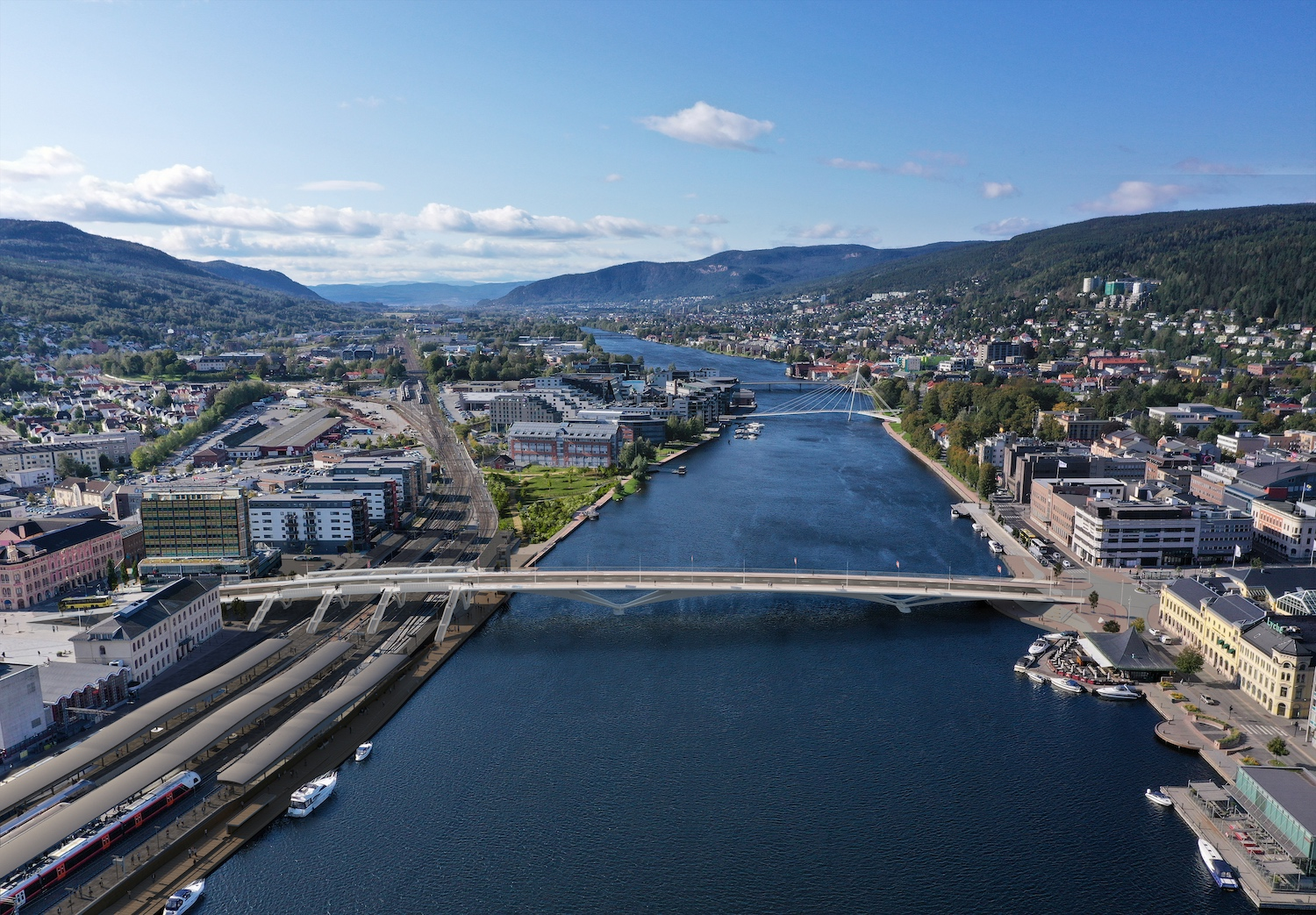 The Design of City Bridge in Norway Is Approved