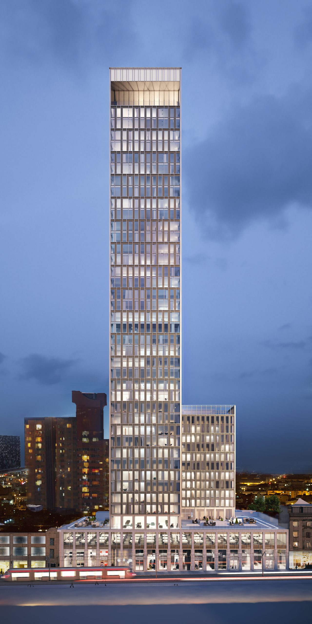 Moda and Sisk Top Out Birmingham's Tallest Residential Building