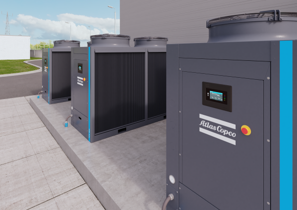Atlas Copco expands into industrial process cooling applications