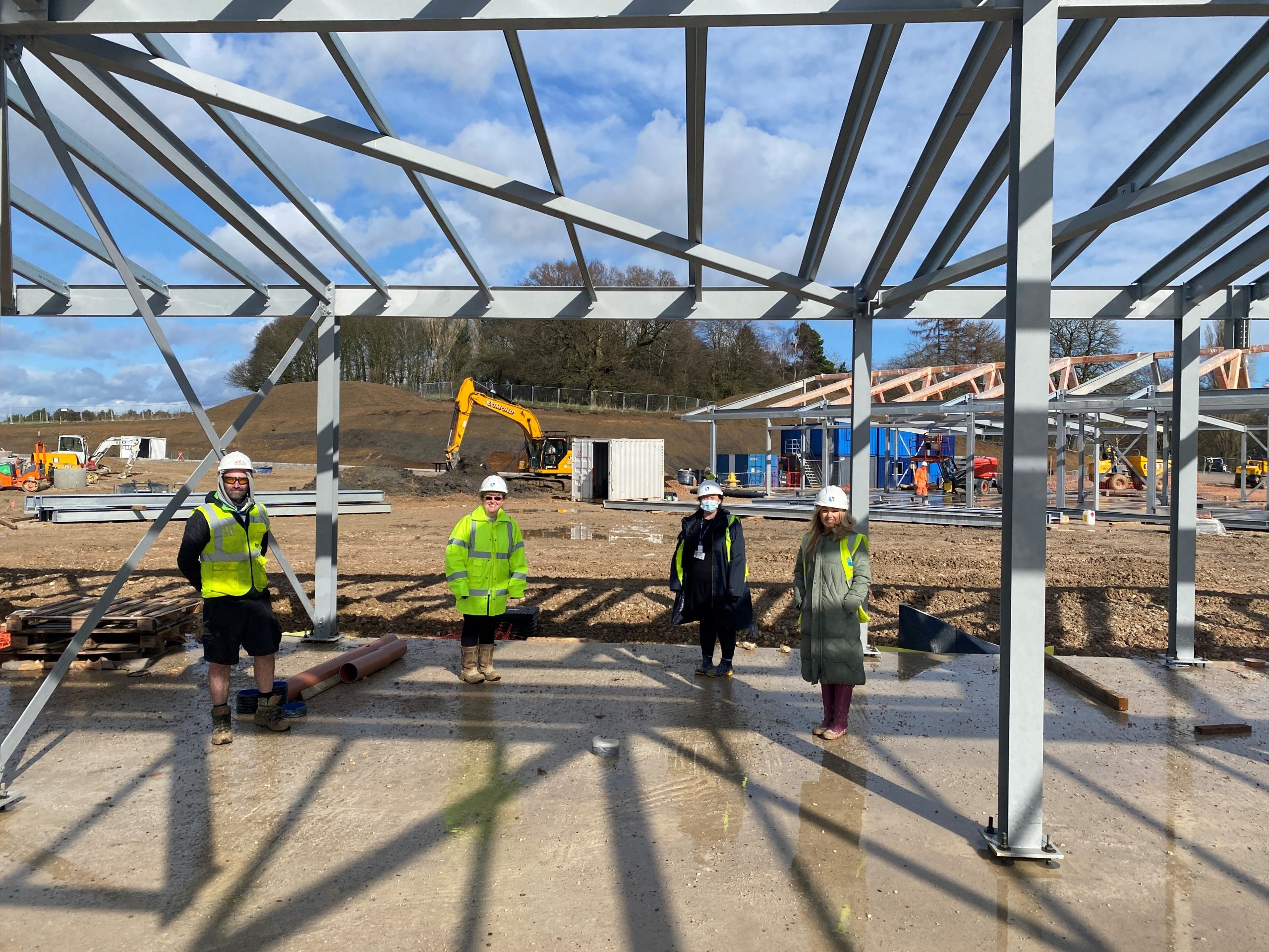 Henry Brothers reaches key point in Derbyshire school scheme