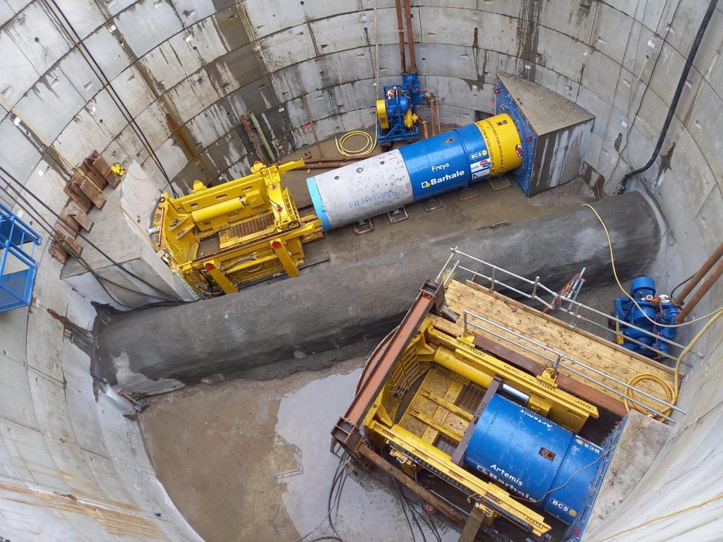 Divine inspiration for TBMs as Barhale prepares for simultaneous pipejacks from single shaft