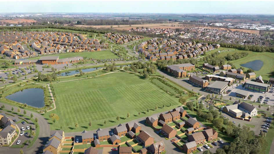 Keepmoat Homes Secures Site in Wellingborough