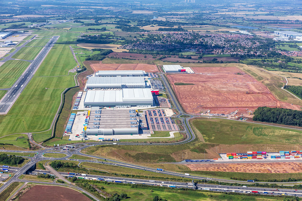 Commitment to sustainable development drives leasing at SEGRO Logistics Park East Midlands Gateway