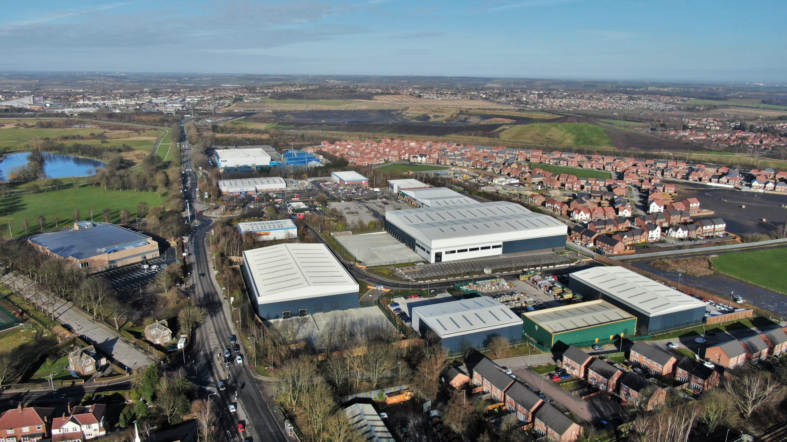 LEFTFIELD PROPERTIES LAUNCHES 120,000 SQ FT WEST YORKSHIRE INDUSTRIAL SCHEME