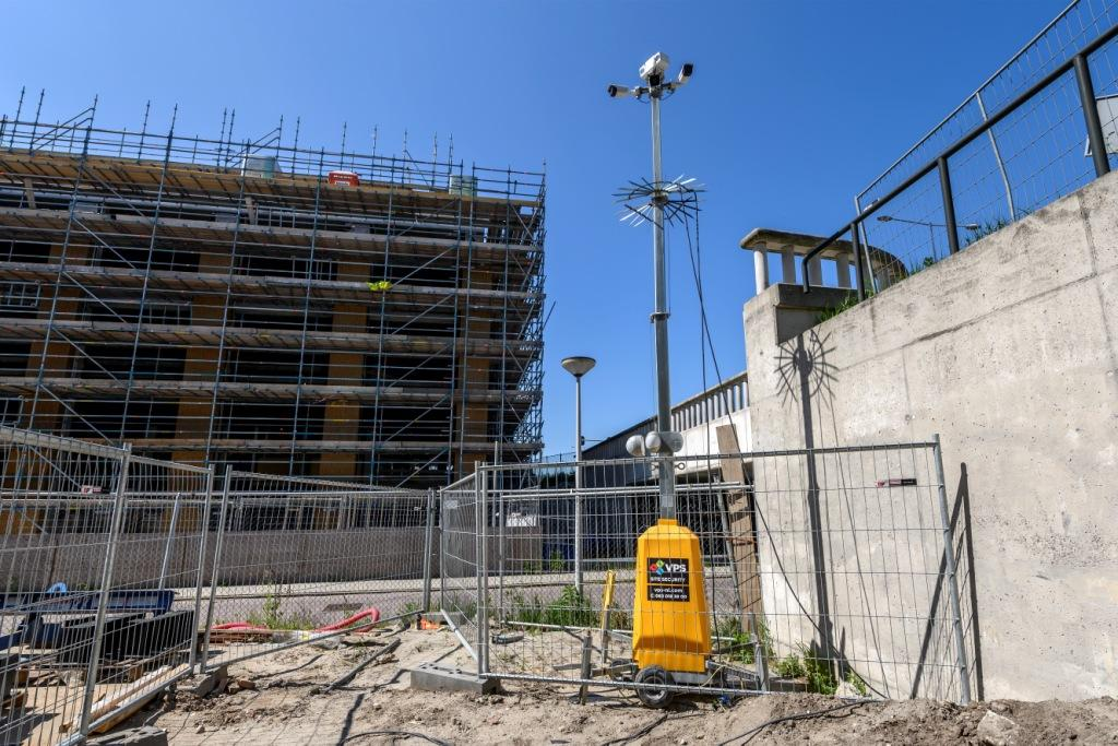 Children use construction sites and derelict properties as playgrounds