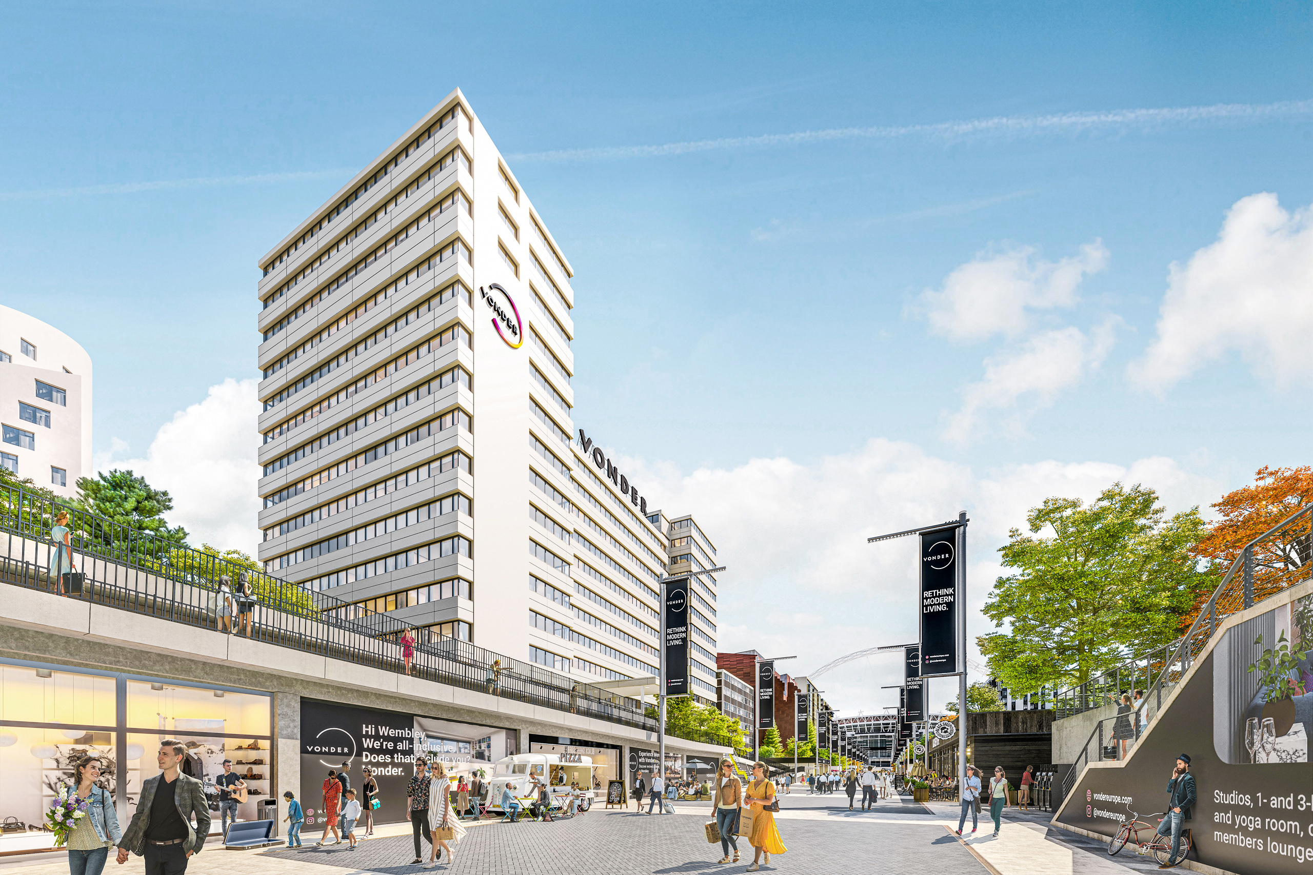 VONDER REVEALS WEMBLEY WILL BE LARGEST  UK CO-LIVING PROJECT TO DATE