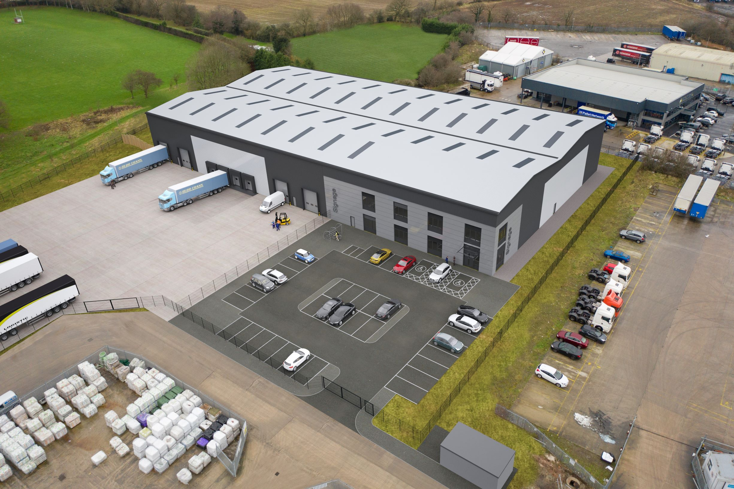 CADDICK ON SCHEDULE TO DELIVER LATEST PHASE ON WARRINGTON SOUTH DISTRIBUTION PARK