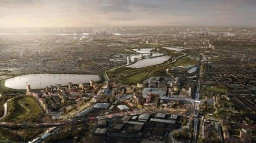 Groundwork starts on £6bn North London regen scheme
