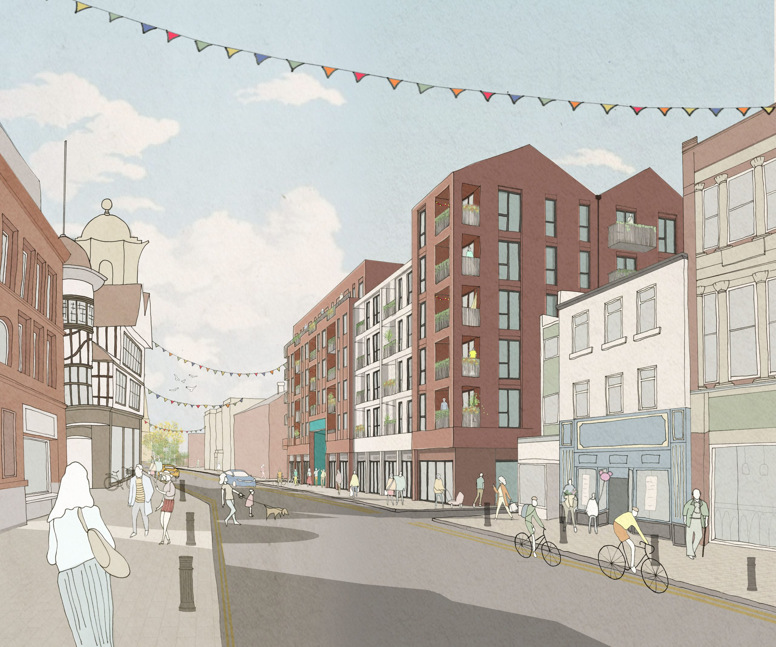 MAJOR TOWN CENTRE REGENERATION PLANS APPROVED BY BOLTON COUNCIL