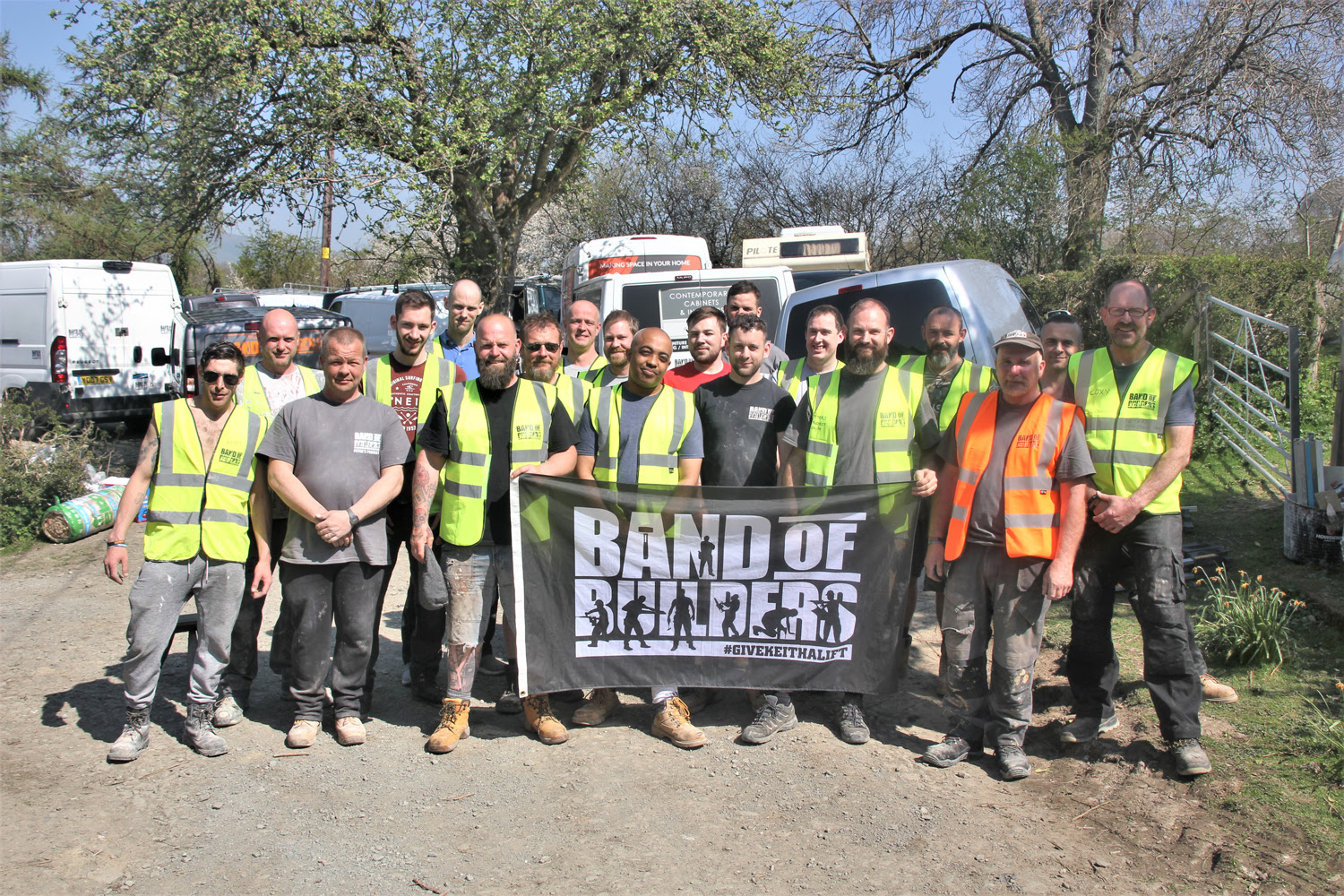 Band of Builders and DEWALT Tools Support Tradespeople