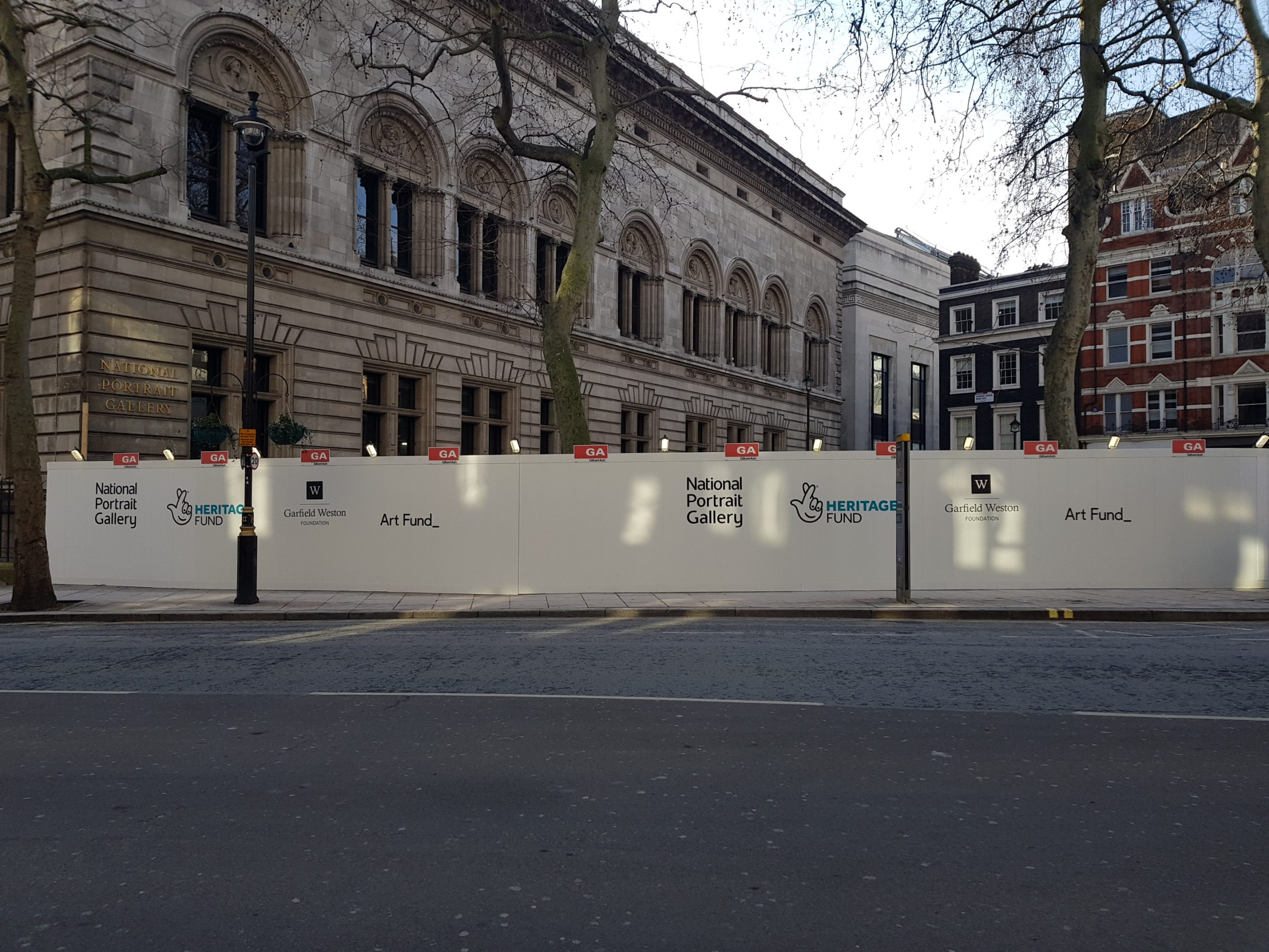 Panthera supplies Full Site Services package to National Portrait Gallery