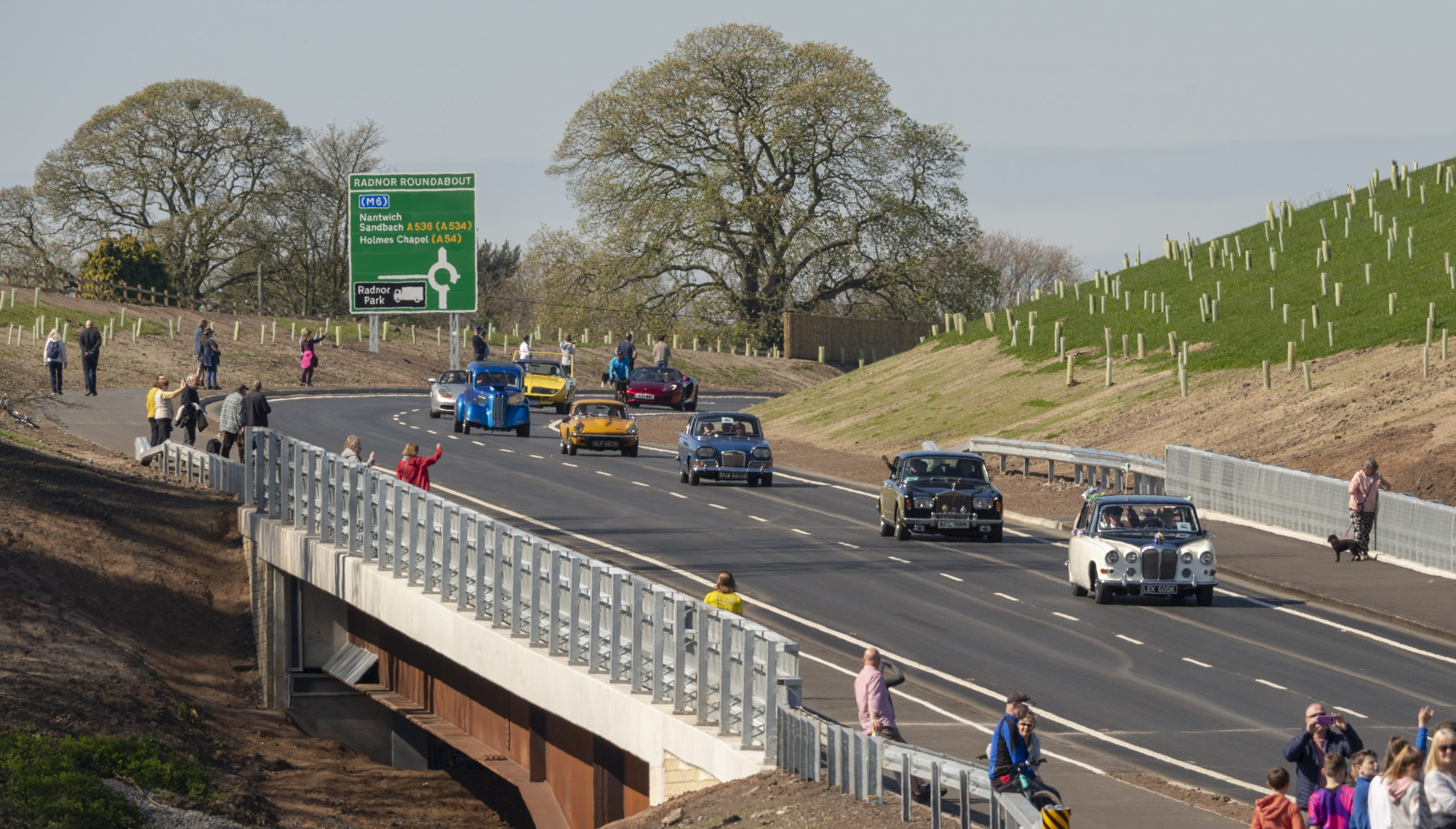 Historic day as £90m Congleton link road opens