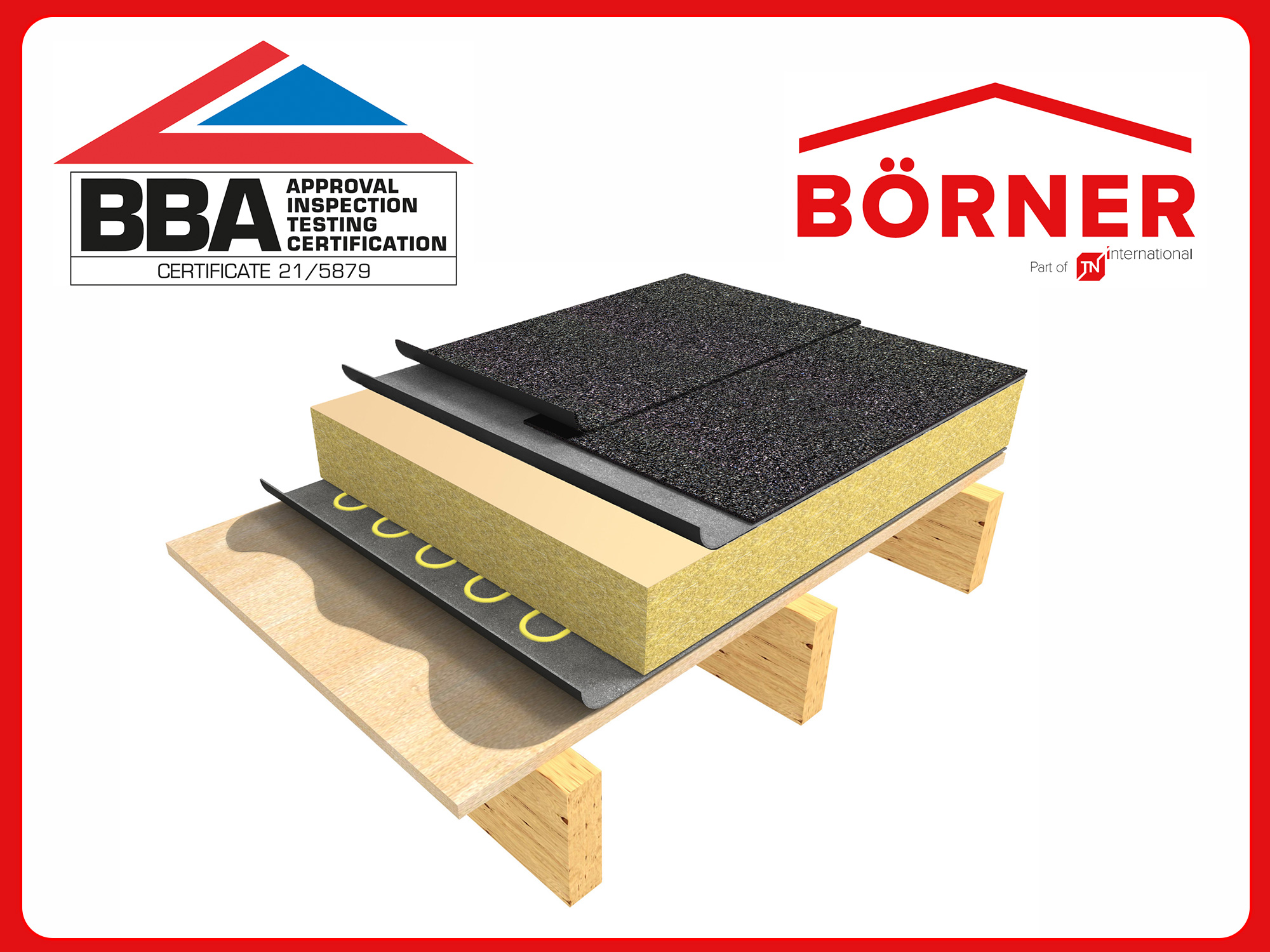 TN International gains BBA certification for its Börner roof waterproofing systems
