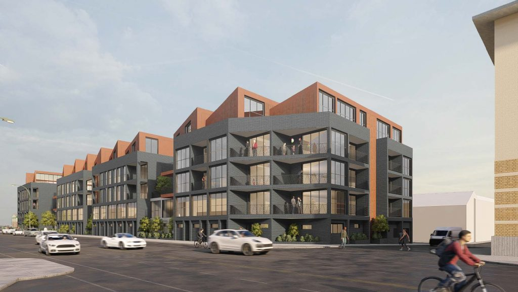 INDUSTRIAL INSPIRED APARTMENT COMPLEX SET TO REVITALISE WOLVERHAMPTON CITY CENTRE