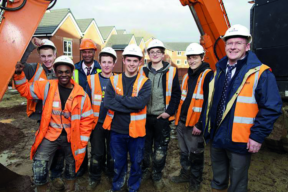 Housebuilder Helps Kickstart Careers for Young People