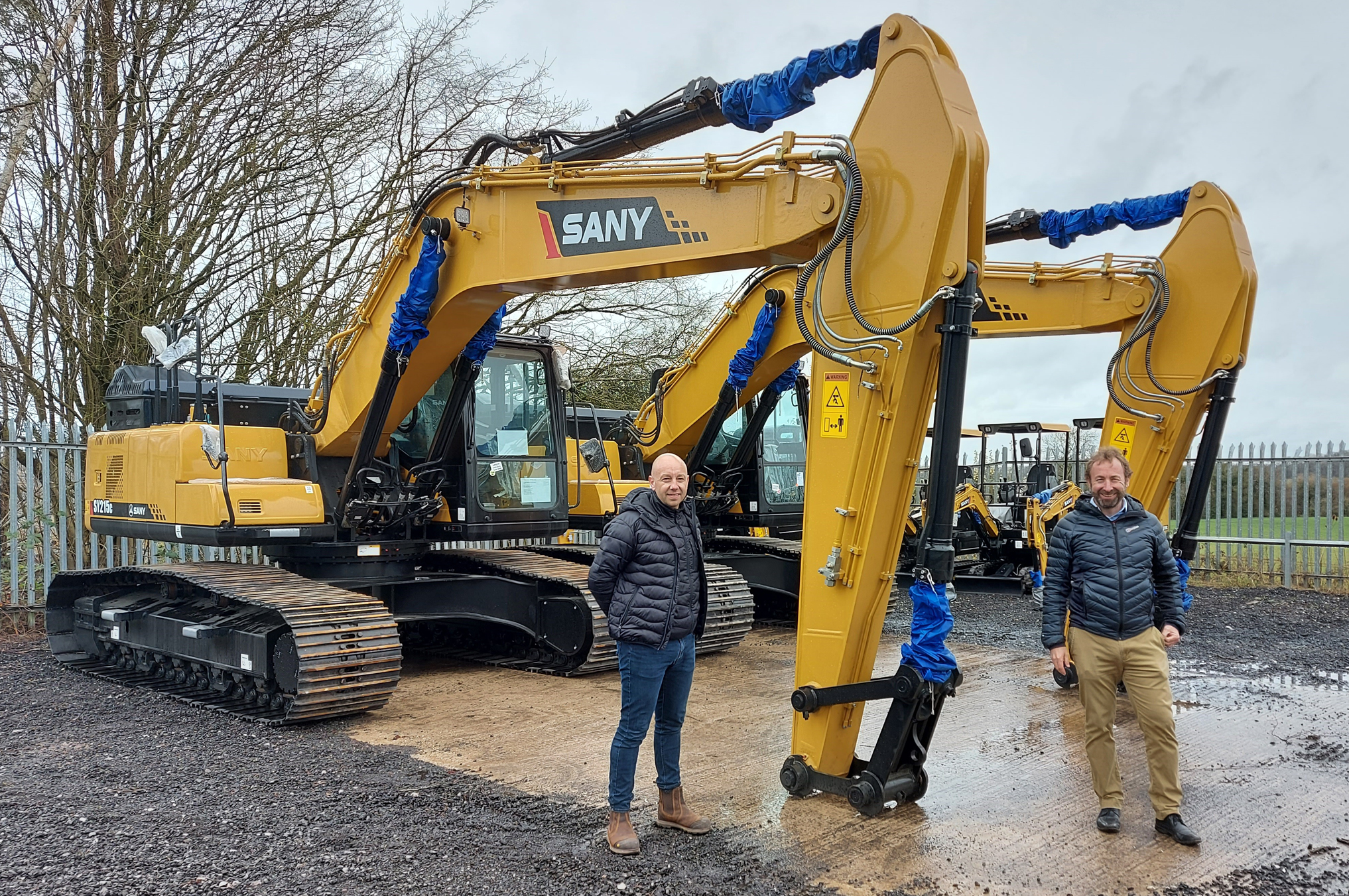 Truck Firm Launches Heavy Plant Division with SANY