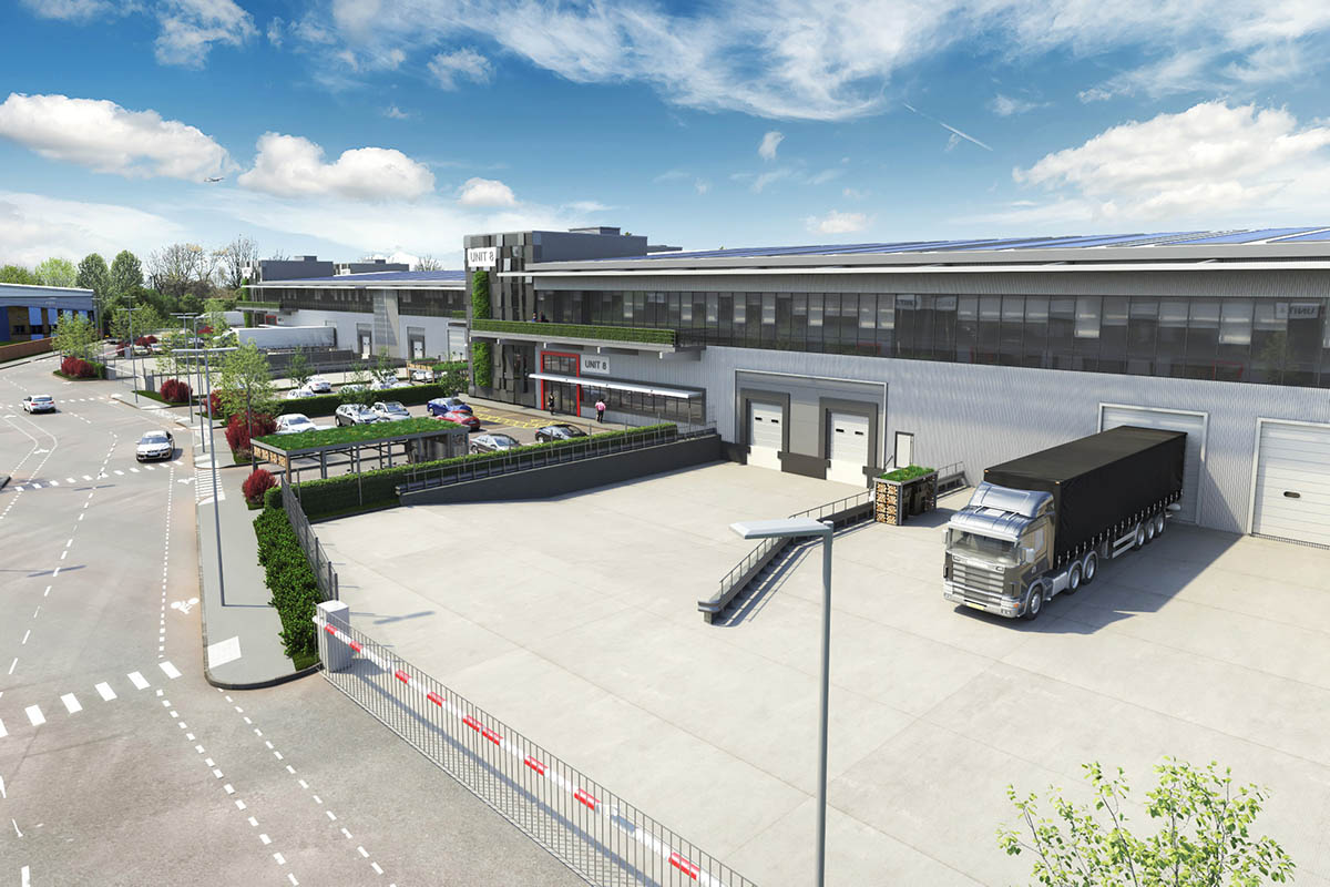SEGRO begins construction on London's greenest industrial estate