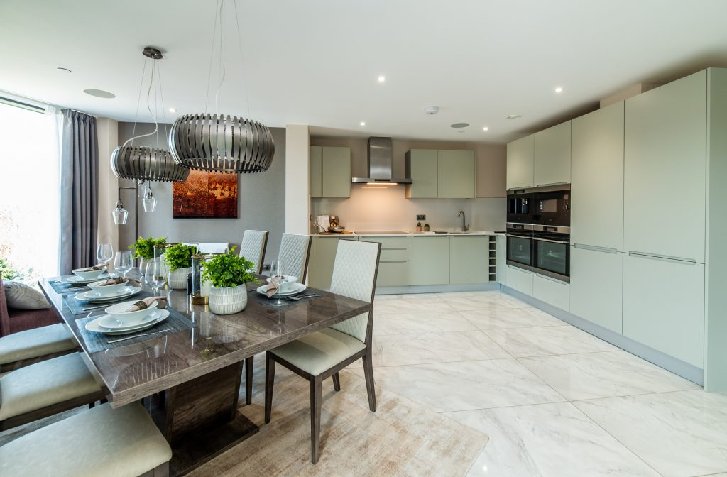 Show home opens at luxury riverside development that's making a splash in Nottingham