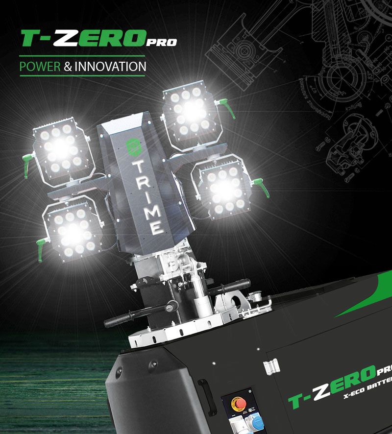 Trime goes T-ZERO – Diesel-Free Lighting and Power by 2025