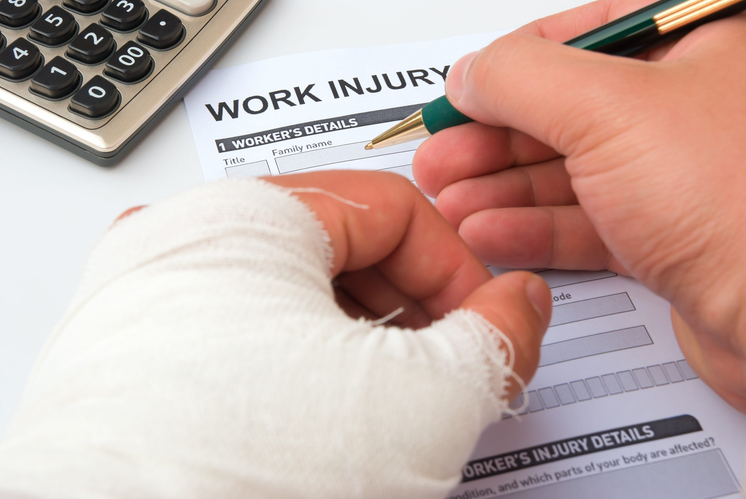What To Do When You Get Injured From A Workplace Accident