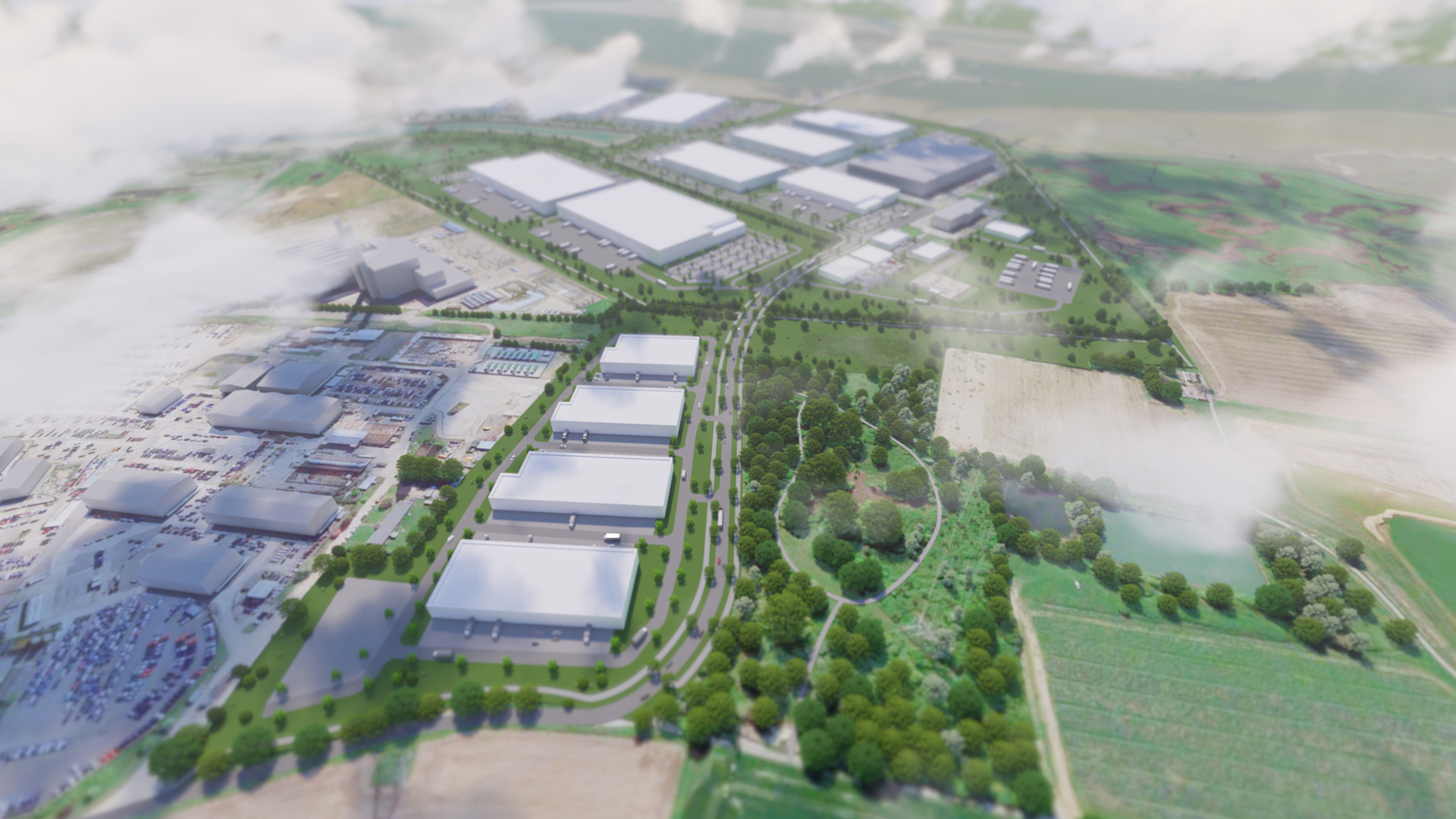 MedwayOne: planning application submitted for new employment development at the former Kingsnorth power station site