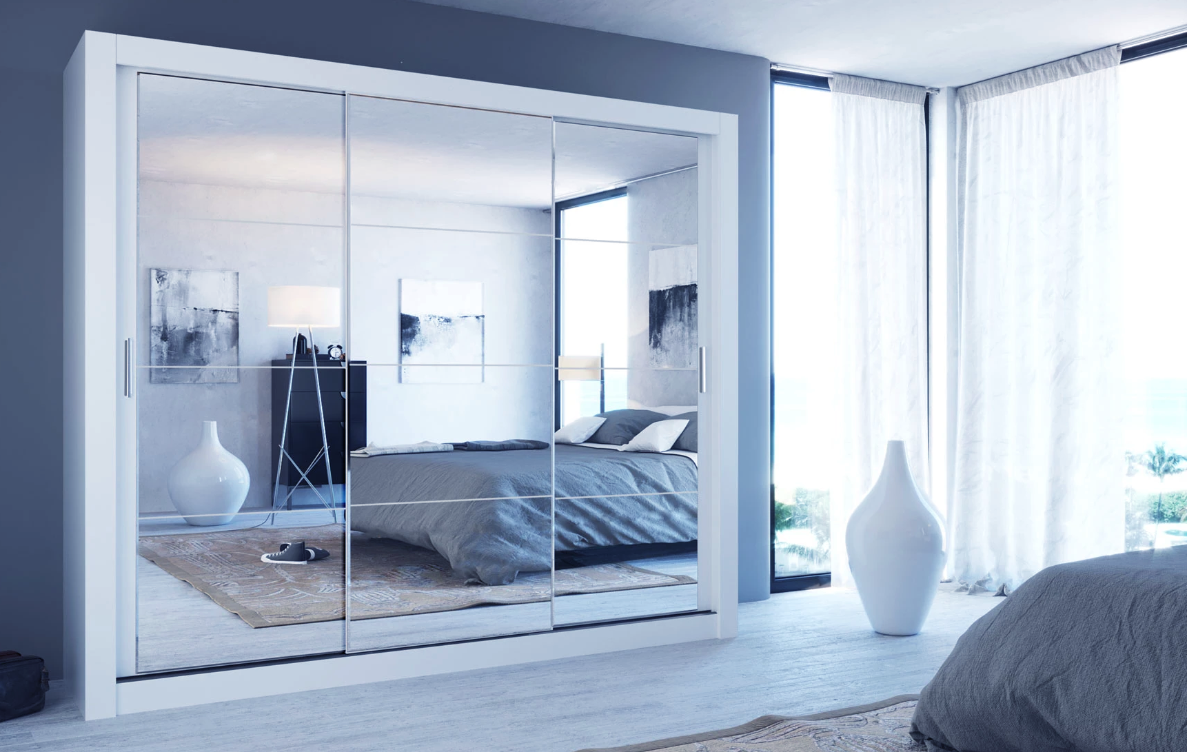 The Advantages of Mirrored Bedroom Furniture as a Design Element