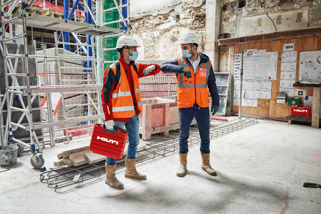 Hilti employees reflect on new ways of working following a turbulent year for construction