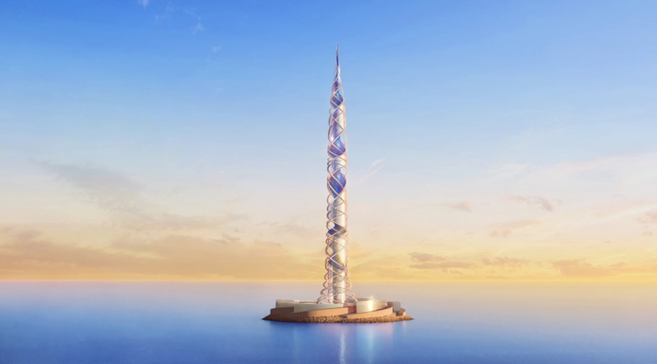 Scottish Architects Kettle Collective Design World's Second Tallest Tower in Russia