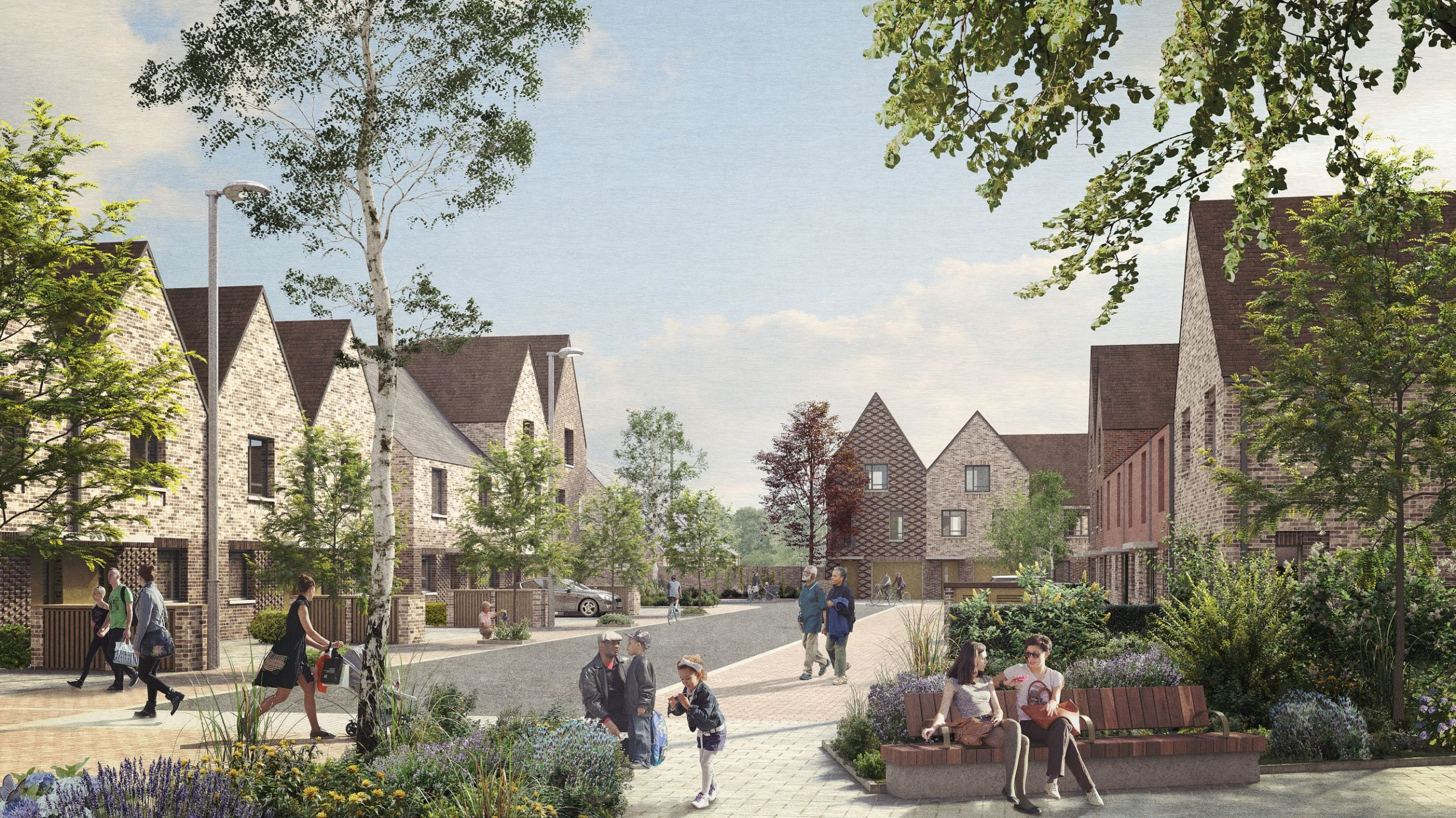 Oakfield project a blueprint for future housing, says Nationwide