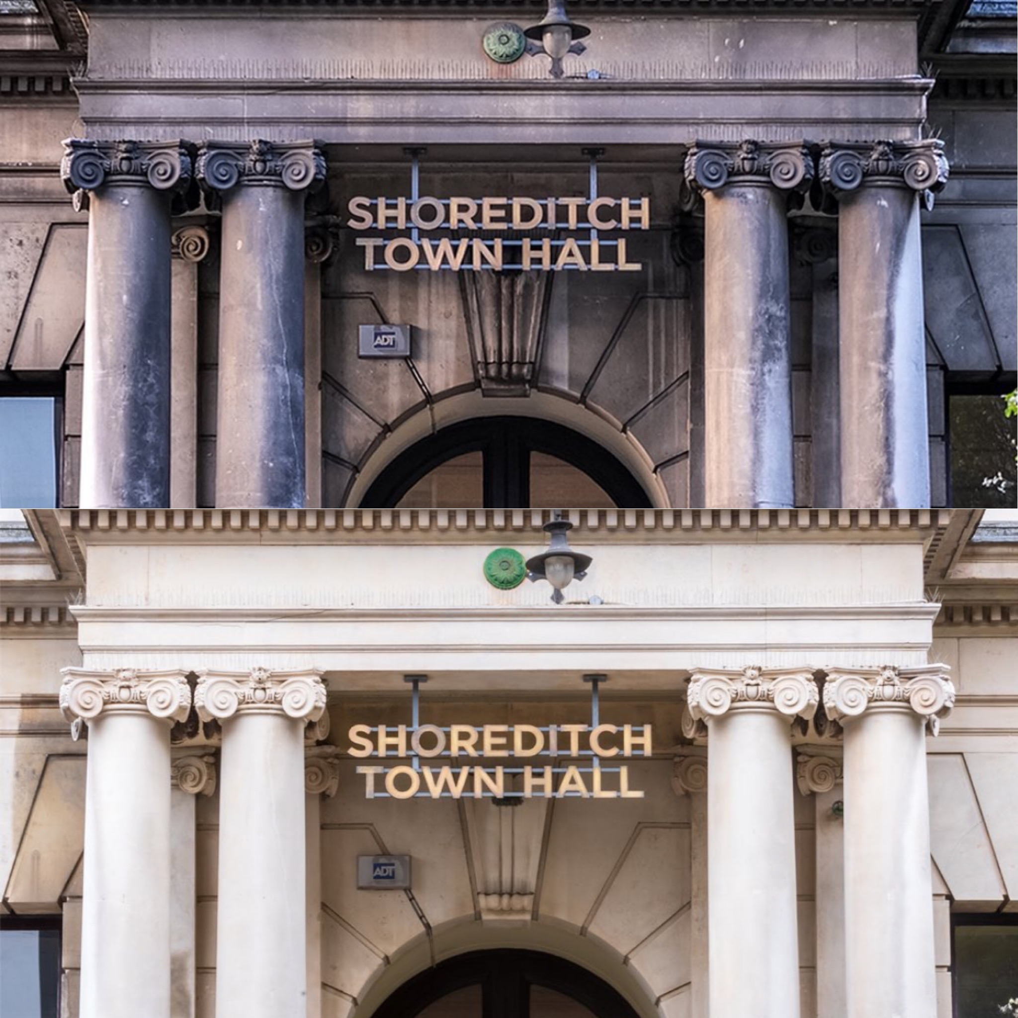 """""""MORE LIGHT, MORE POWER"""" THOMANN-HANRY® COMPLETE SHOREDITCH TOWN HALL'S FIRST EXTERIOR CLEAN IN 155 YEARS"""