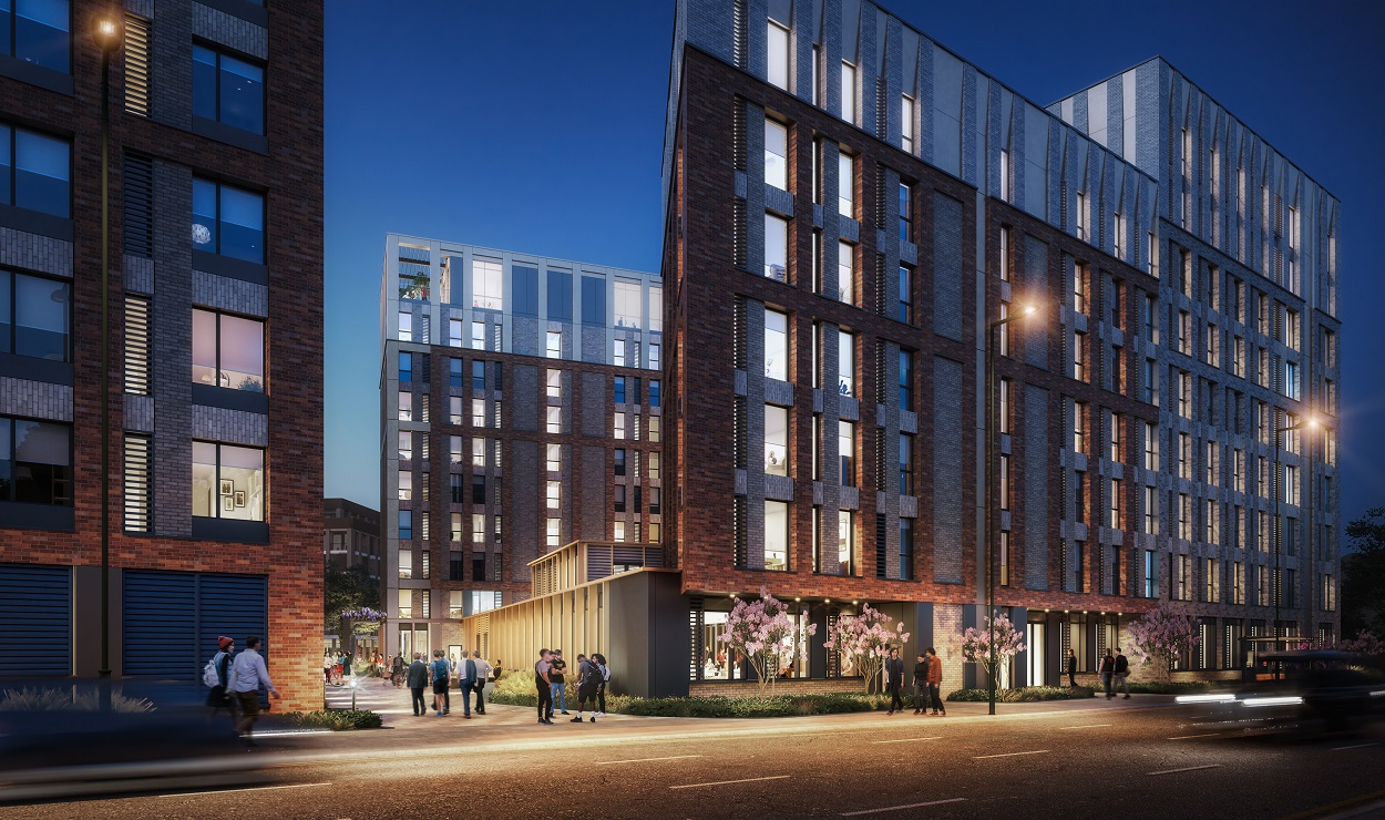 PLANS ANNOUNCED FOR 702-BED STUDENT ACCOMMODATION AT THE ISLAND QUARTER