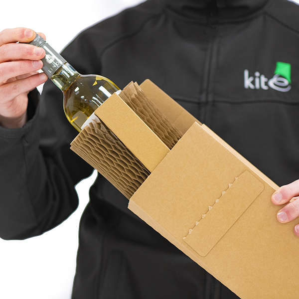 Kite Packaging launch an 100% biodegradable and recyclable bottle sleeve, boasting extreme strength and cost efficiency.