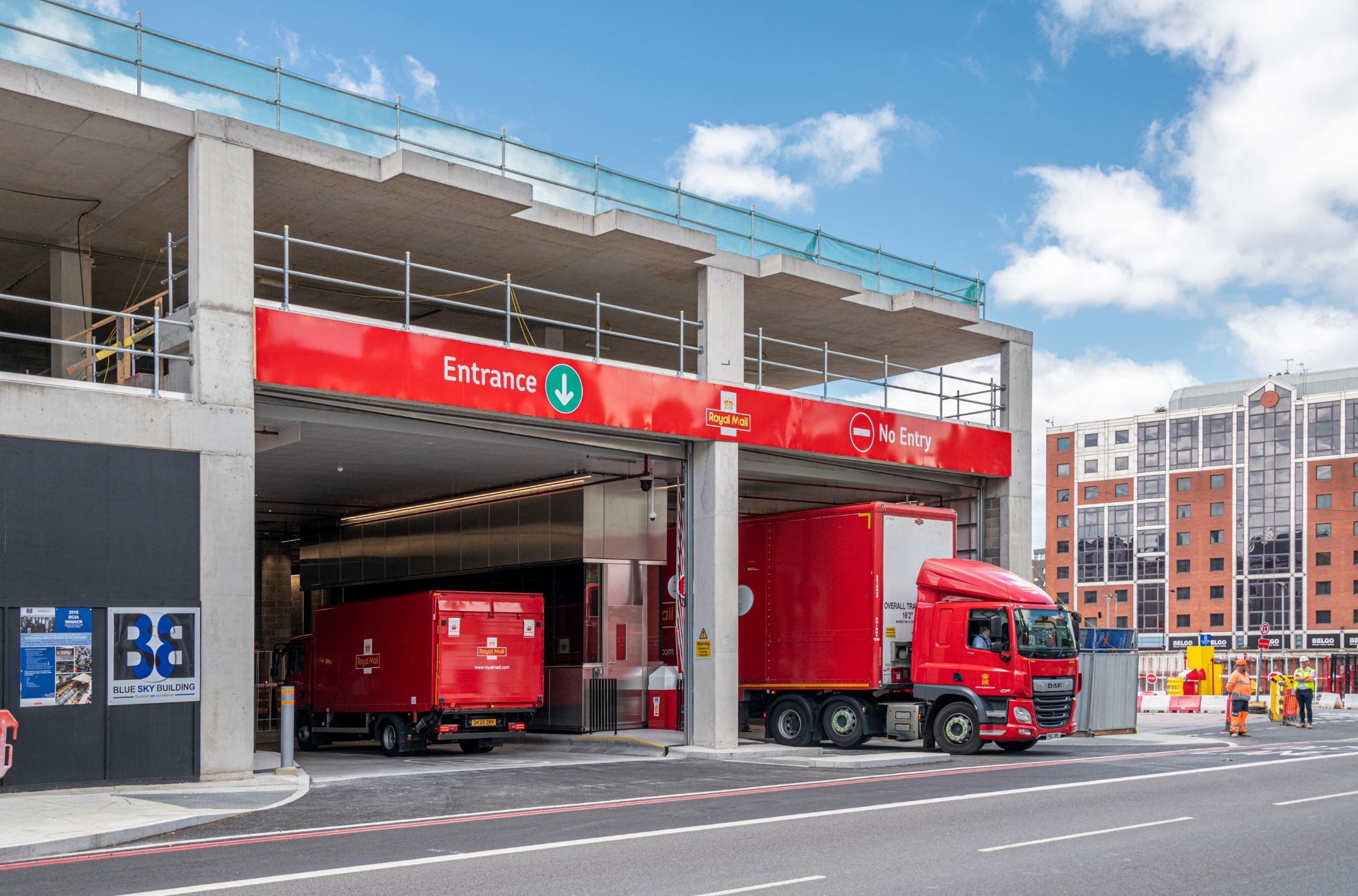 Chisholm & Winch Delivers Operationally Critical £9 Million Package for Royal Mail