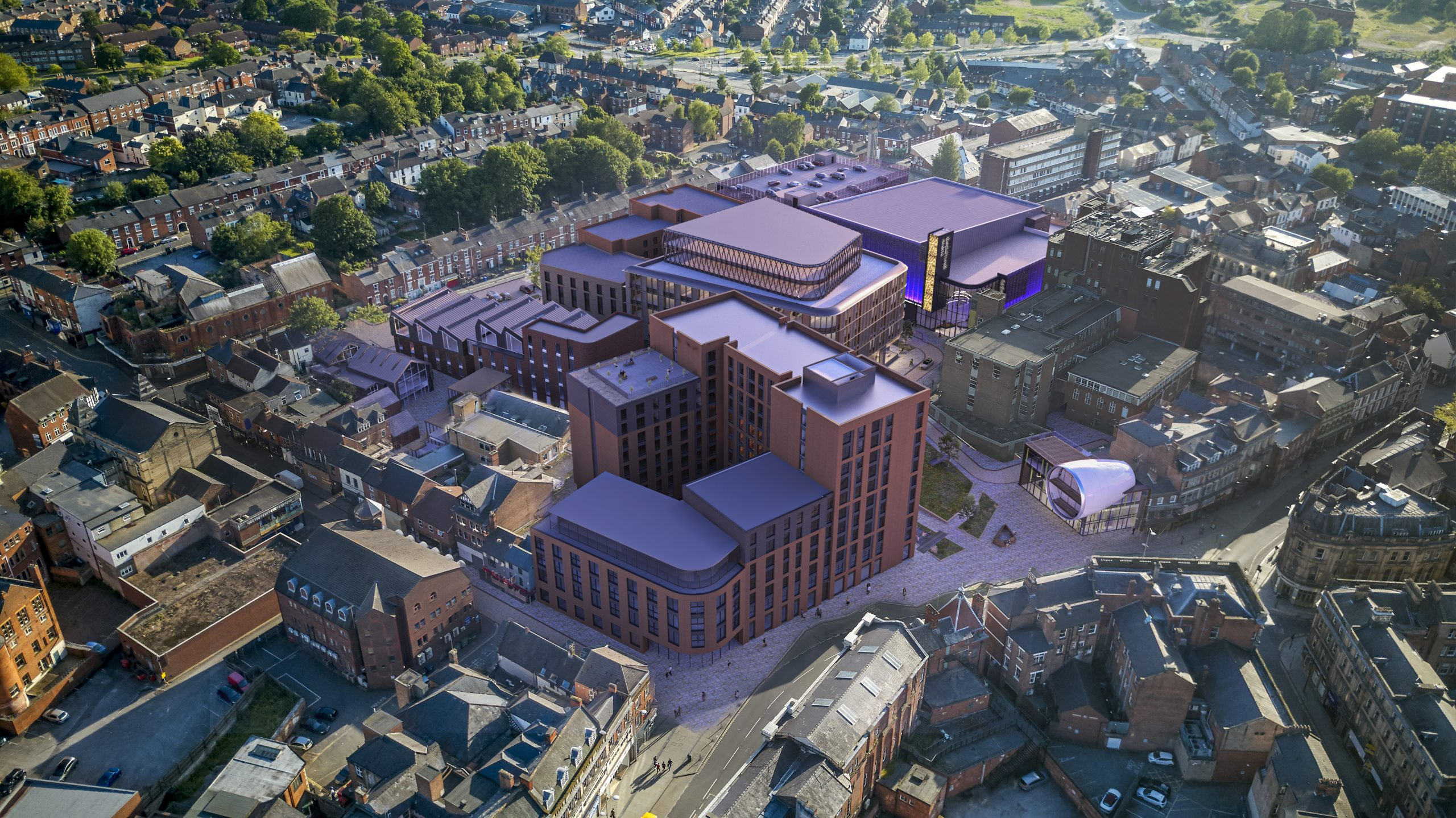 GMI awarded contract to build new £30M build to rent residential scheme within new Becketwell development in Derby