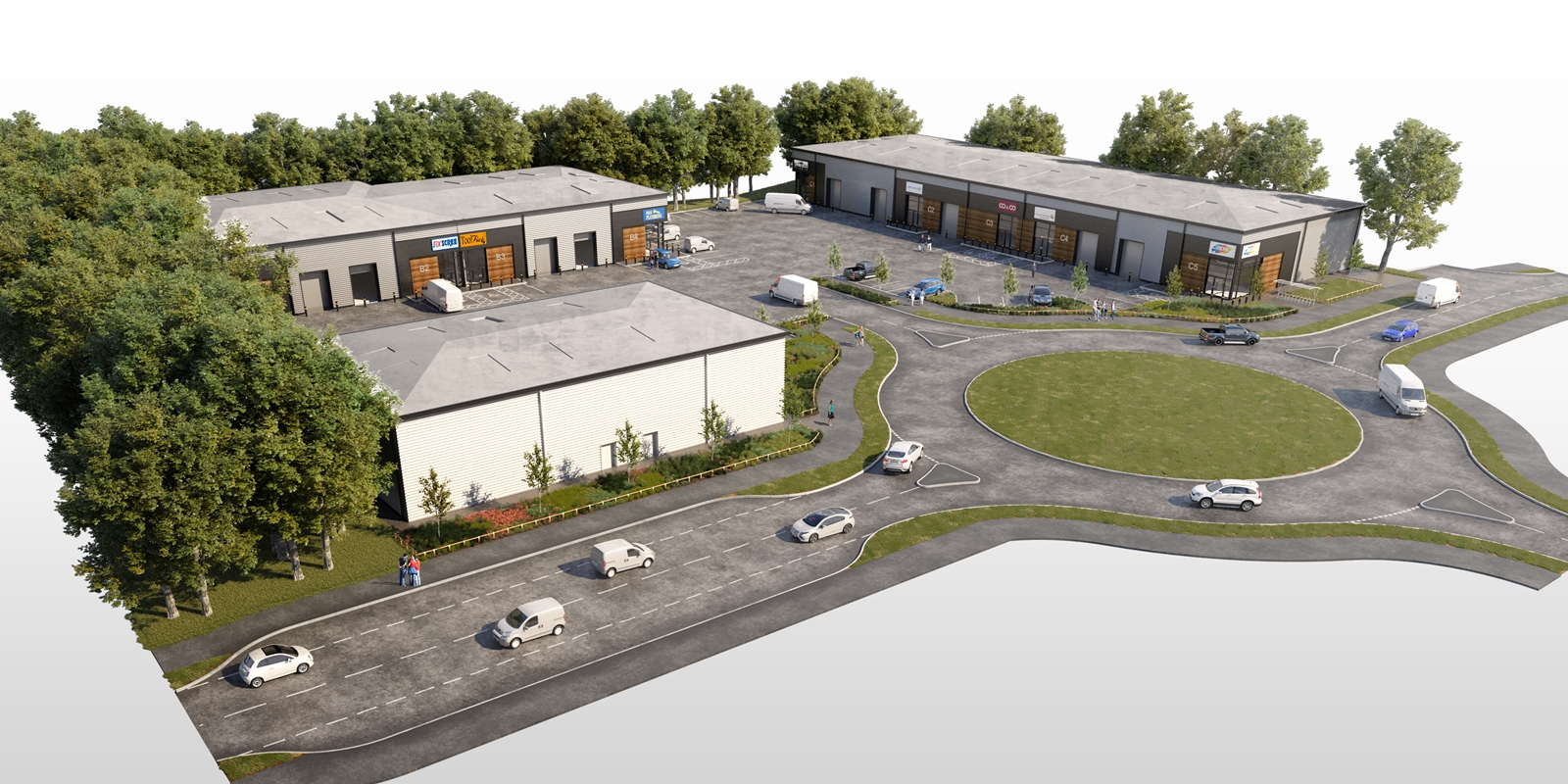 WORK STARTS ON MAJOR NEW INDUSTRIAL DEVELOPMENT ON FORMER COLLIERY SITE