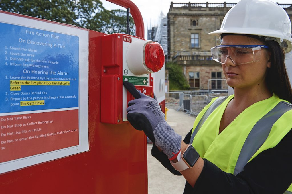 LOCAL FIRM SAFEGUARDS HISTORIC CASTLE DURING £30 MILLION RENOVATION