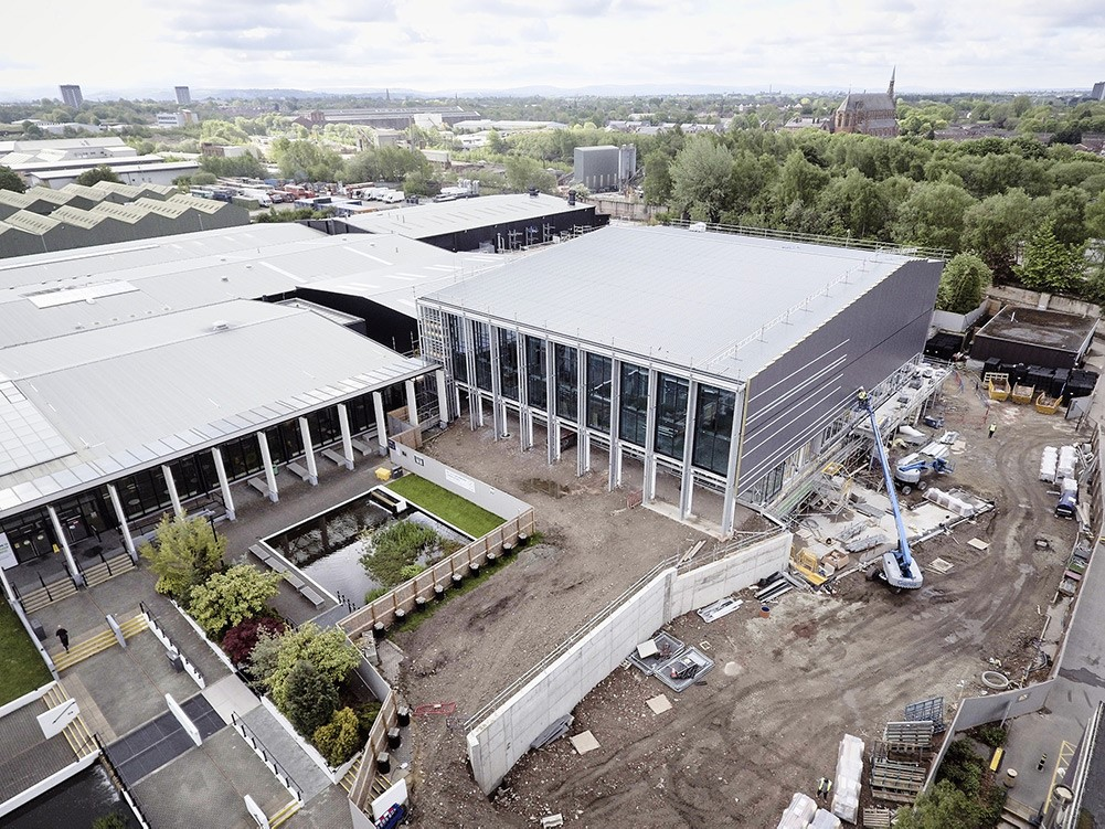The Manchester College Celebrates Build Progress At Its Openshaw Campus