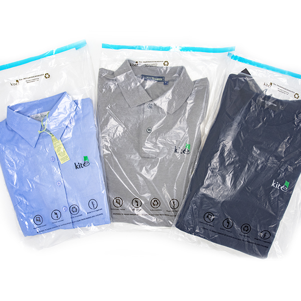 Kite Packaging unveils carbon neutral sugarcane packaging with new garment bags
