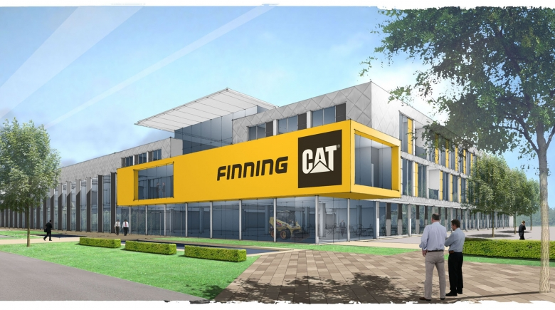 Finning goes for gold with internationally recognised award